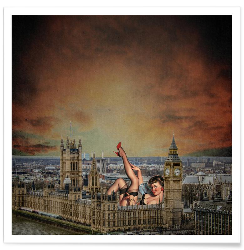 London Pinup affiche