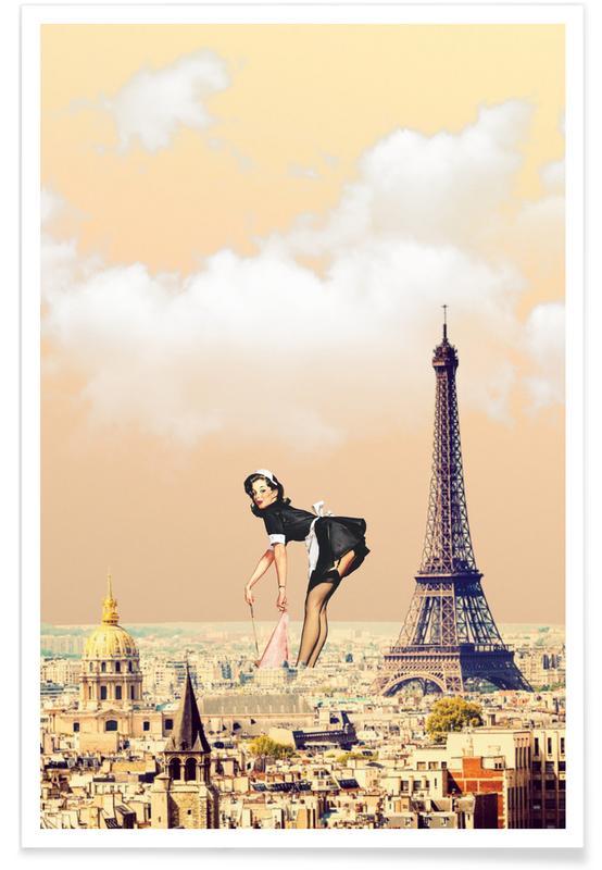 Paris Pinup -Poster