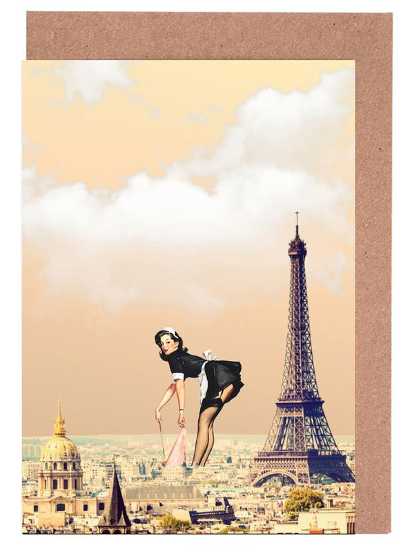 Paris Pinup Greeting Card Set