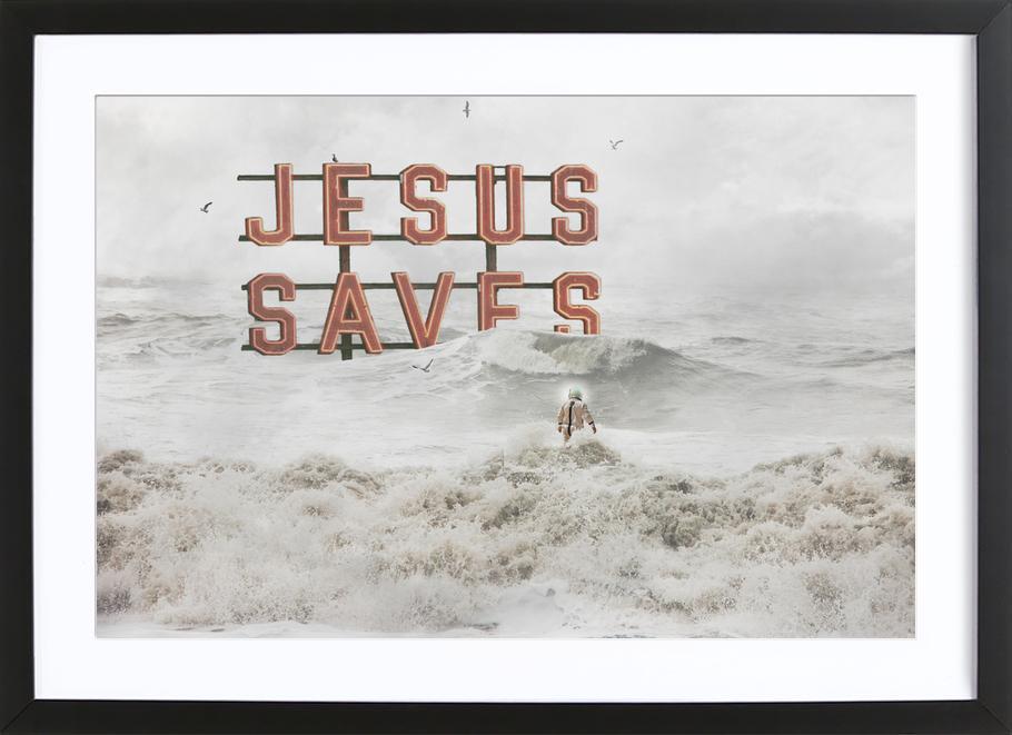 God Help Us Framed Print