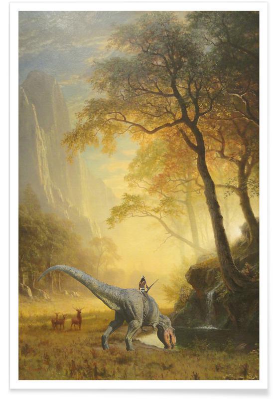 Dinosaurier, Three Buck Breakfast -Poster