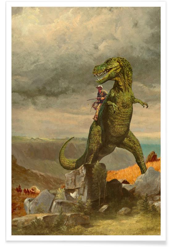 Dinosaures, T Rexas Ranger affiche