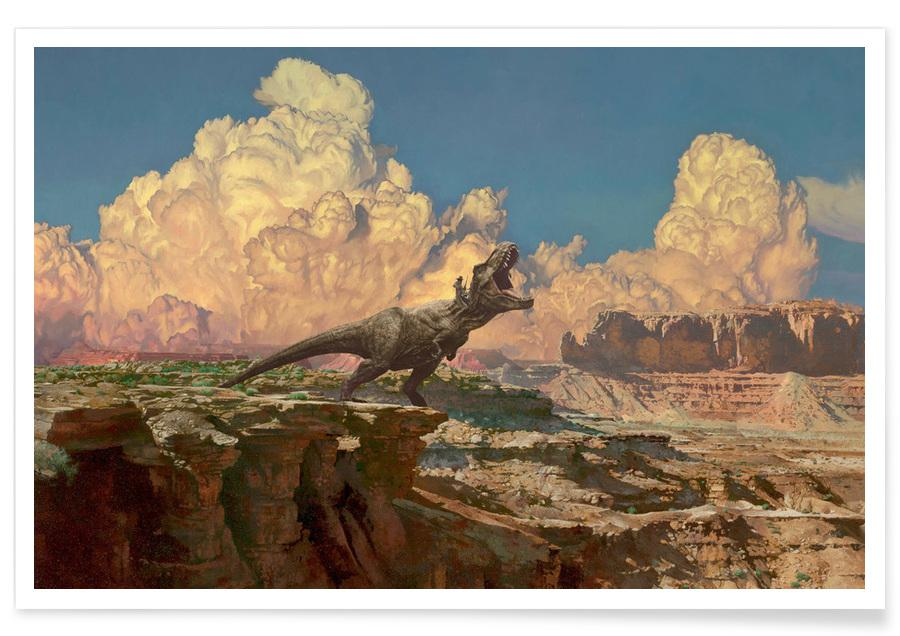 Dinosaures, How The West Was Won affiche