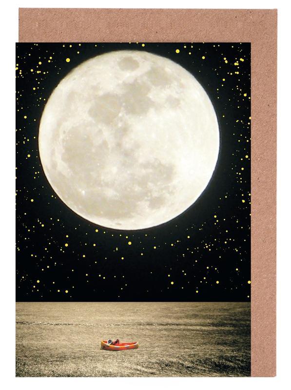 Mond, A Prayer To Genevieve -Grußkarten-Set