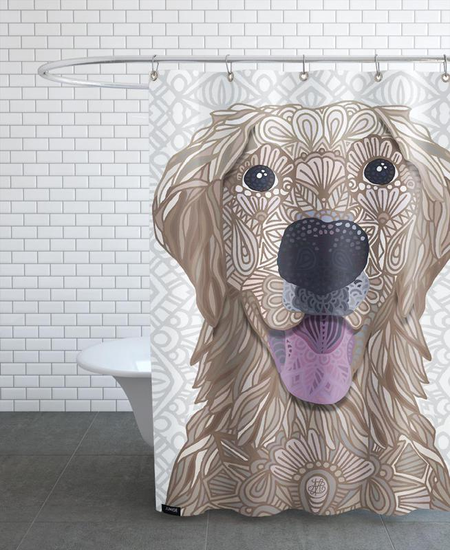 Hunde, Sweet Honey -Duschvorhang