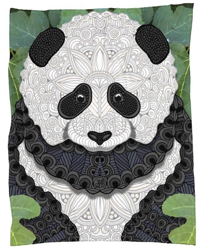 Panda Bear -Fleecedecke