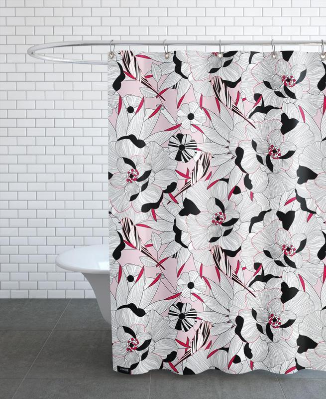 , Fiori Orientali 1 Shower Curtain