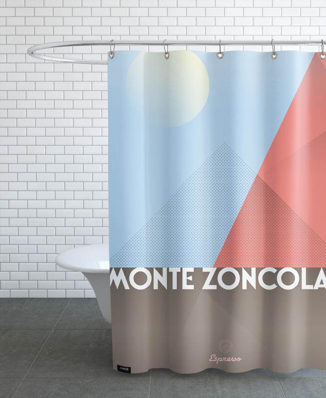 Monte Zoncolan  II Shower Curtain