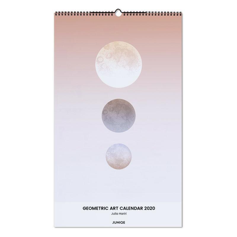 Geometric Art Calendar 2020 - Julia Hariri -Wandkalender