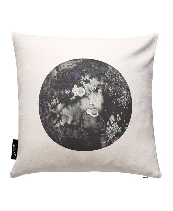 Mercury Pink Cushion Cover