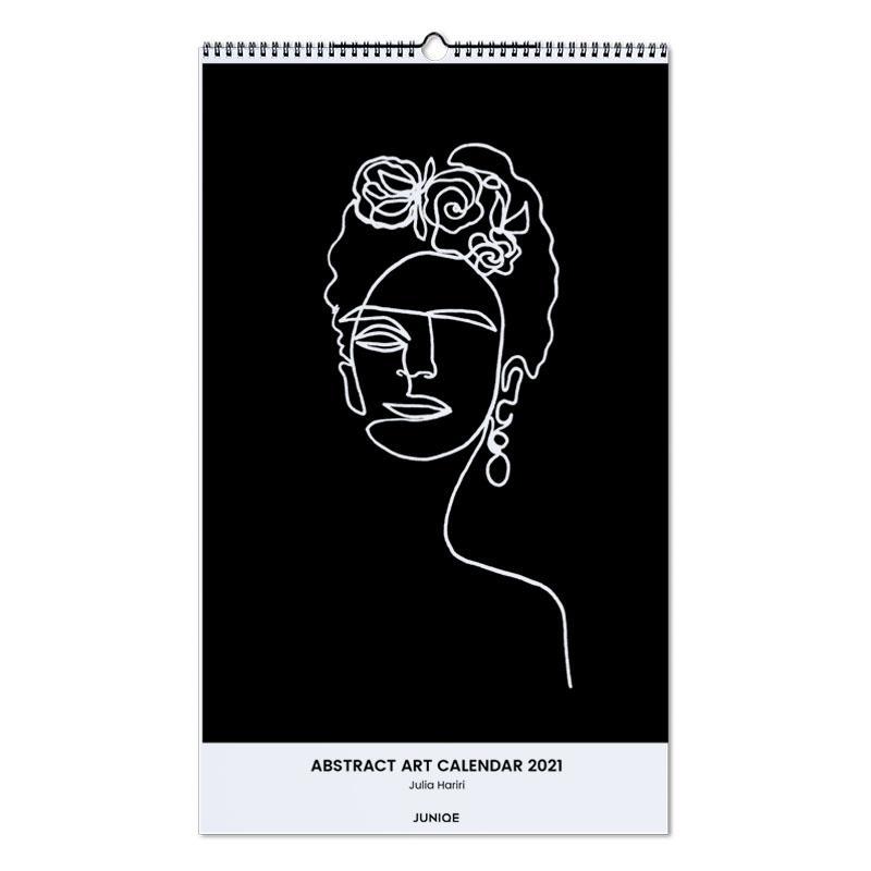 , Julia Hariri - Abstract Art Calendar 2021 Calendar 2021 wandkalender