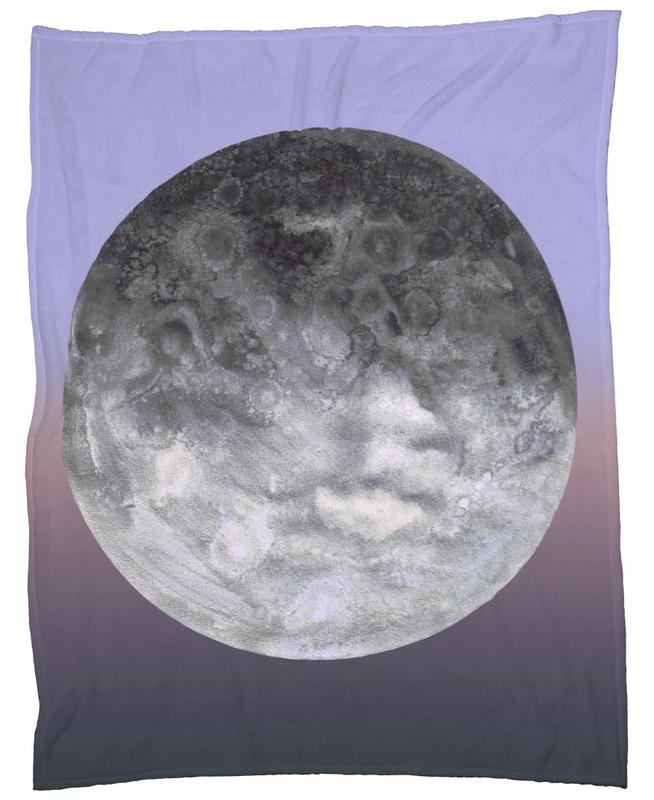 Quaoar gradient Fleece Blanket