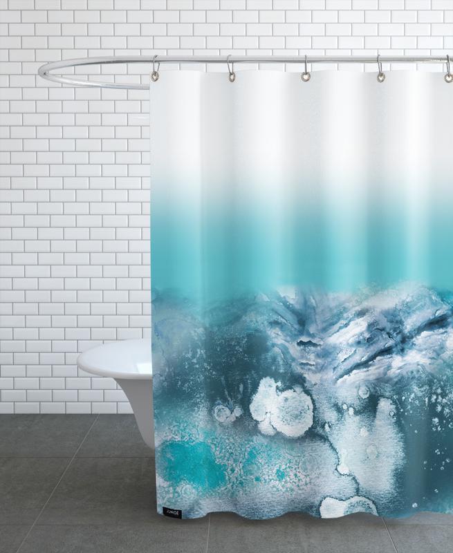 Lunar -Duschvorhang