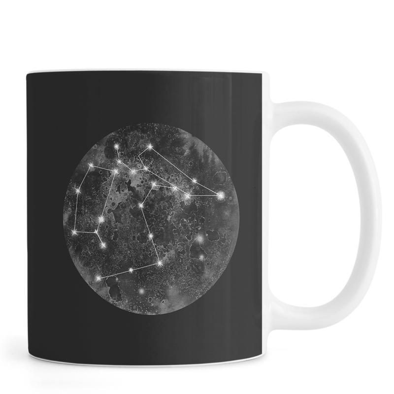 Constellation Black Mug