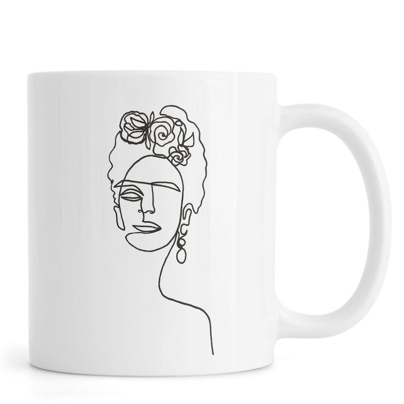 Frida Kahlo, Noir & blanc, Frida mug