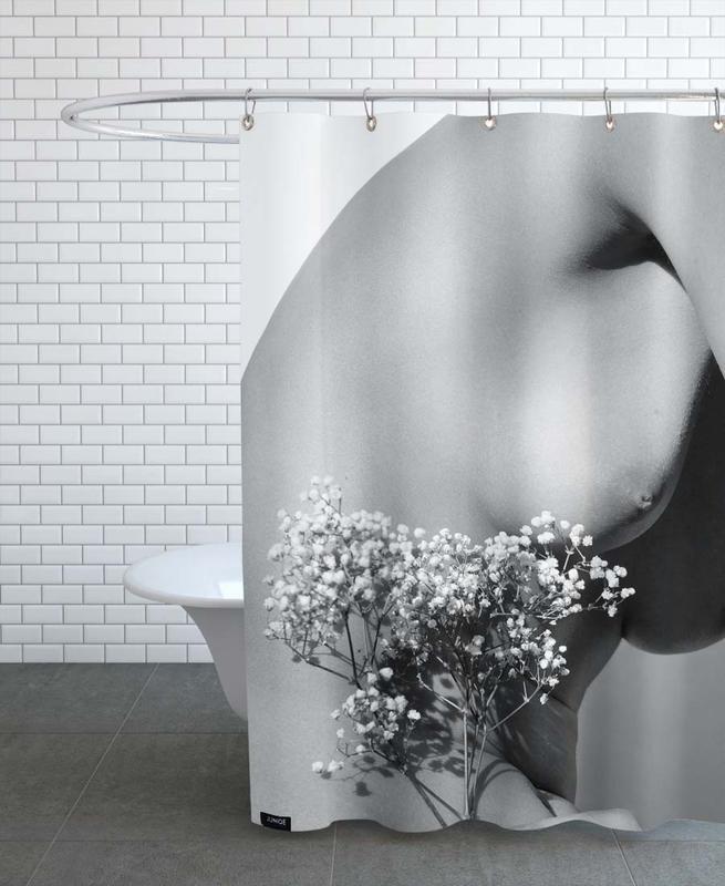 Noir & blanc, Nus, Nude 01 rideau de douche