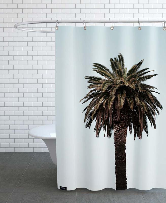 Palmiers, Palmtree rideau de douche
