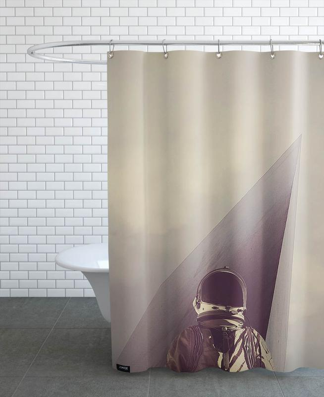 Point Omega Shower Curtain