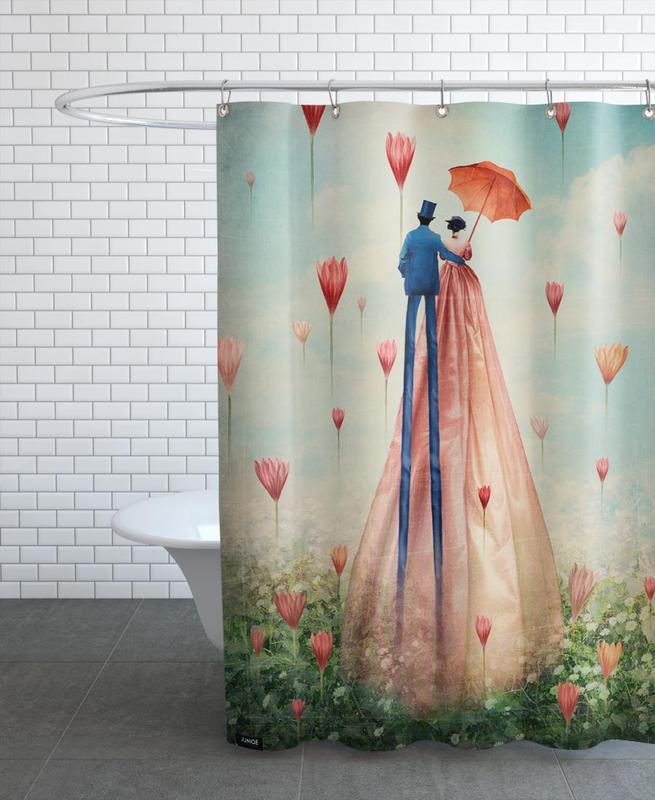 Liebe & Jahrestage, Paare, Traumwelt, Hochzeiten, Good Morning -Duschvorhang