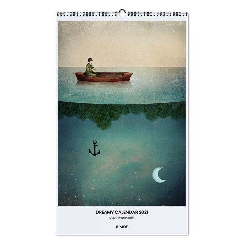 , Catrin Welz-Stein - Dreamy Calendar 2021 -Wandkalender