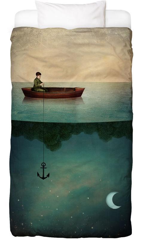 Traumwelt, Kinderzimmer & Kunst für Kinder, Entering Dreamland -Kinderbettwäsche