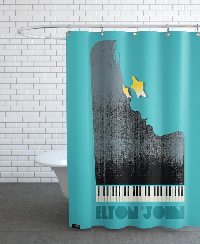 Elton John Shower Curtain