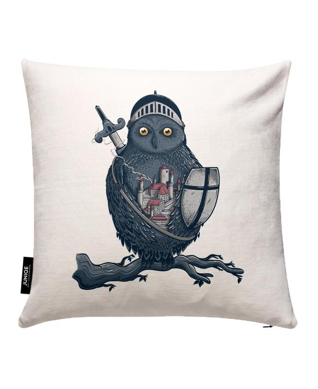 Night Watchman Cushion Cover
