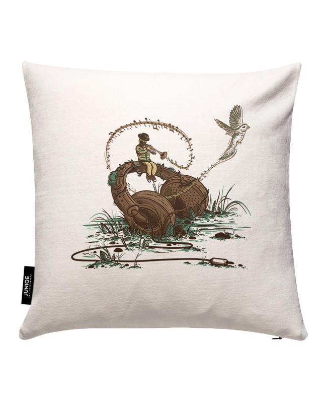Flying Sounds Cushion Cover