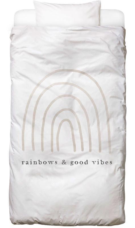 Rainbows and Good Vibes Kids' Bedding
