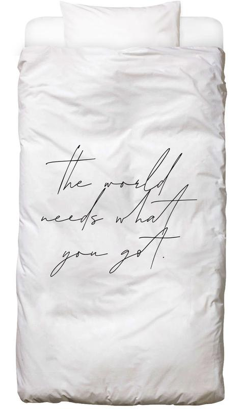 Motivational, The World Bed Linen