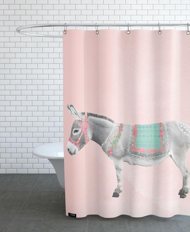 , Esel rideau de douche