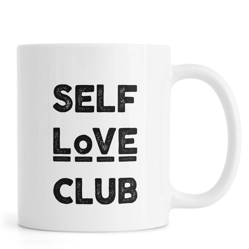 Peace Selflove Club -Tasse