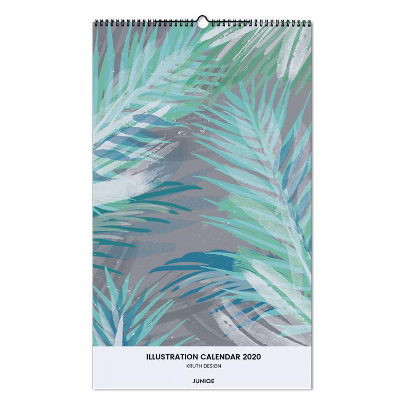 Illustration Calendar 2020 - KRUTH DESIGN -Wandkalender