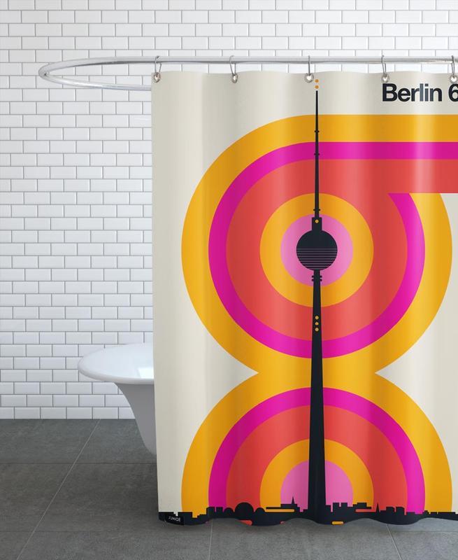 Berlin 69 Shower Curtain