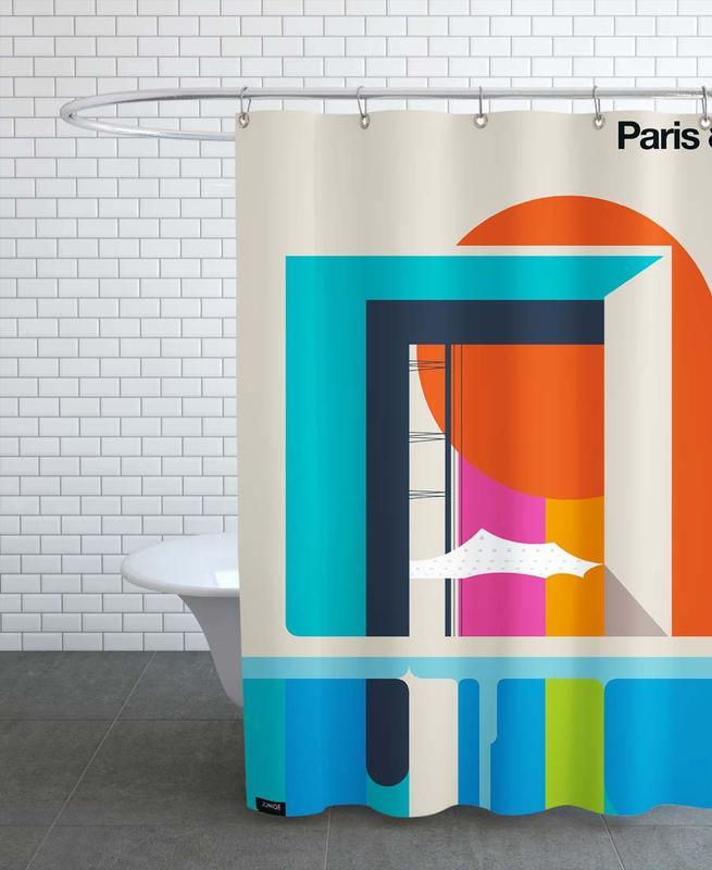 Paris, Reise, Paris 89 -Duschvorhang