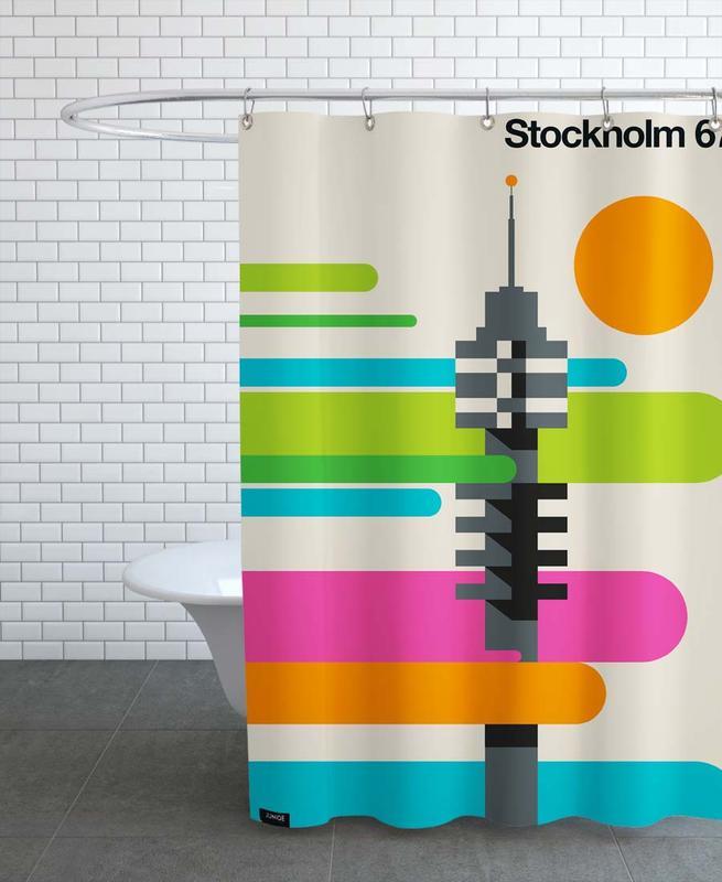 Stockholm 67B Shower Curtain
