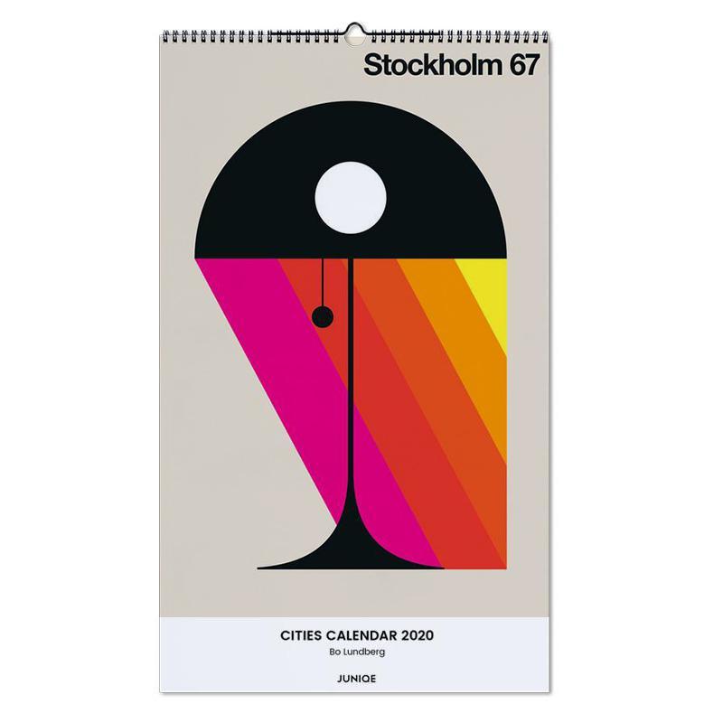 Cities Calendar 2020 - Bo Lundberg Wall Calendar
