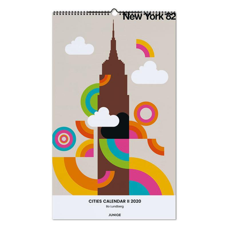 Cities Calendar II 2020 - Bo Lundberg -Wandkalender