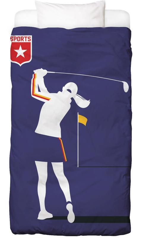 Golfer 2 Bettwäsche