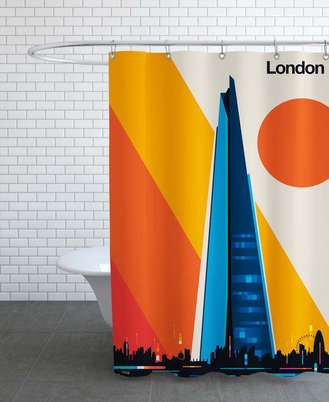 Londres, Monuments et vues, London 12 rideau de douche