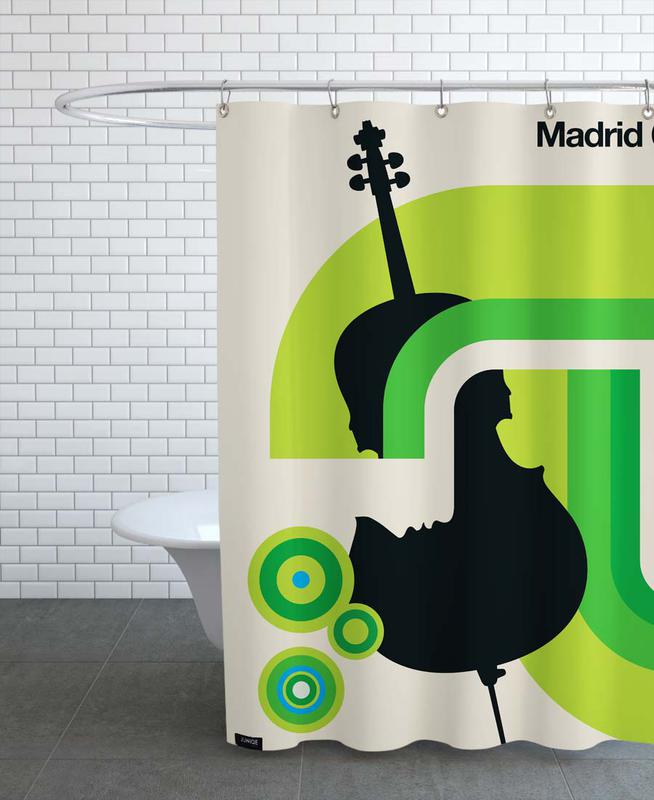 Madrid 62 Shower Curtain
