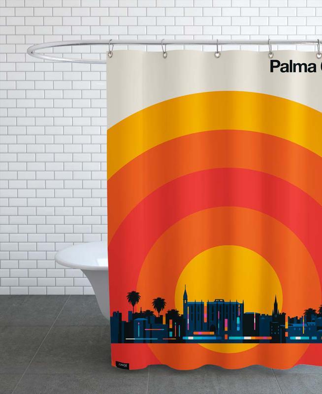 Skylines, Palma 69 rideau de douche