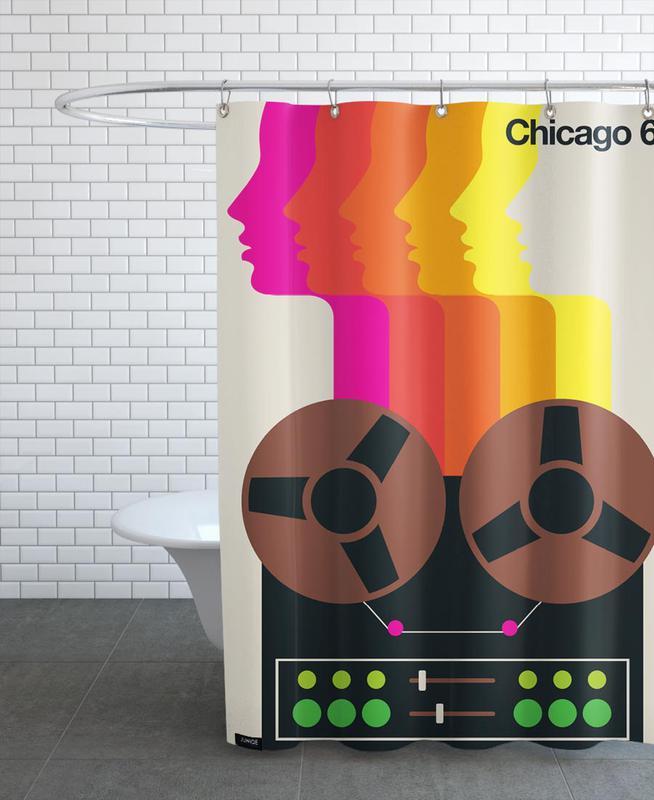 Chicago 68 Shower Curtain