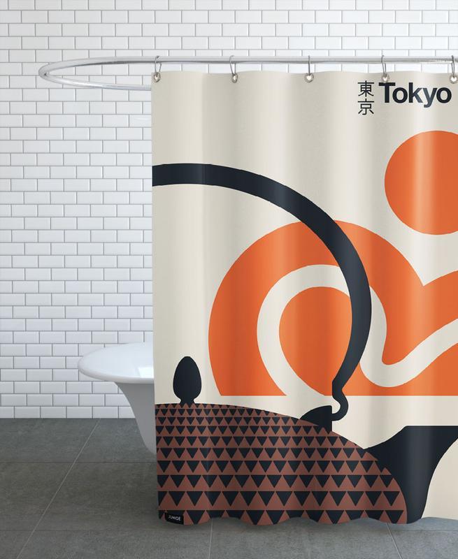 Travel, Sights & Landmarks, Tokyo, Tokyo Shower Curtain