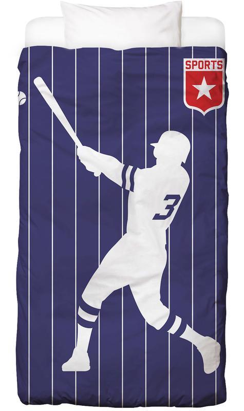 Baseball -Kinderbettwäsche