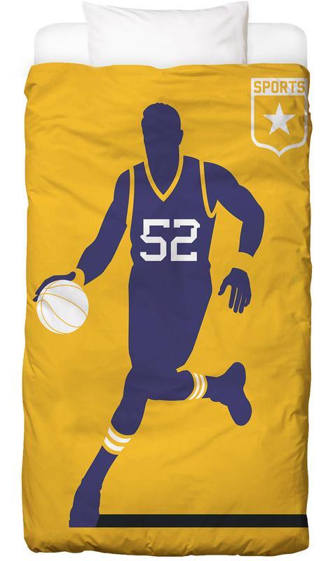 Basketball -Kinderbettwäsche