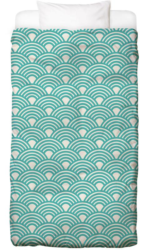 Patterns, Eastern Waves Light Kids' Bedding