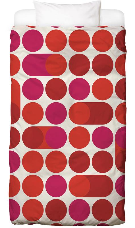 Red Bleep Kids' Bedding