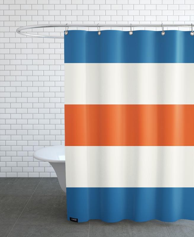 Menton Shower Curtain