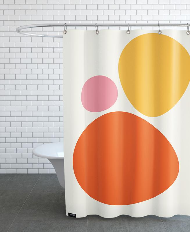 Hot Stones Shower Curtain